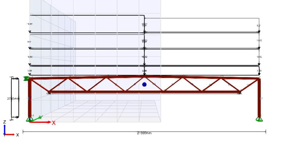 Dimensjonering av fagverk utført i FOCUS konstruksjon.